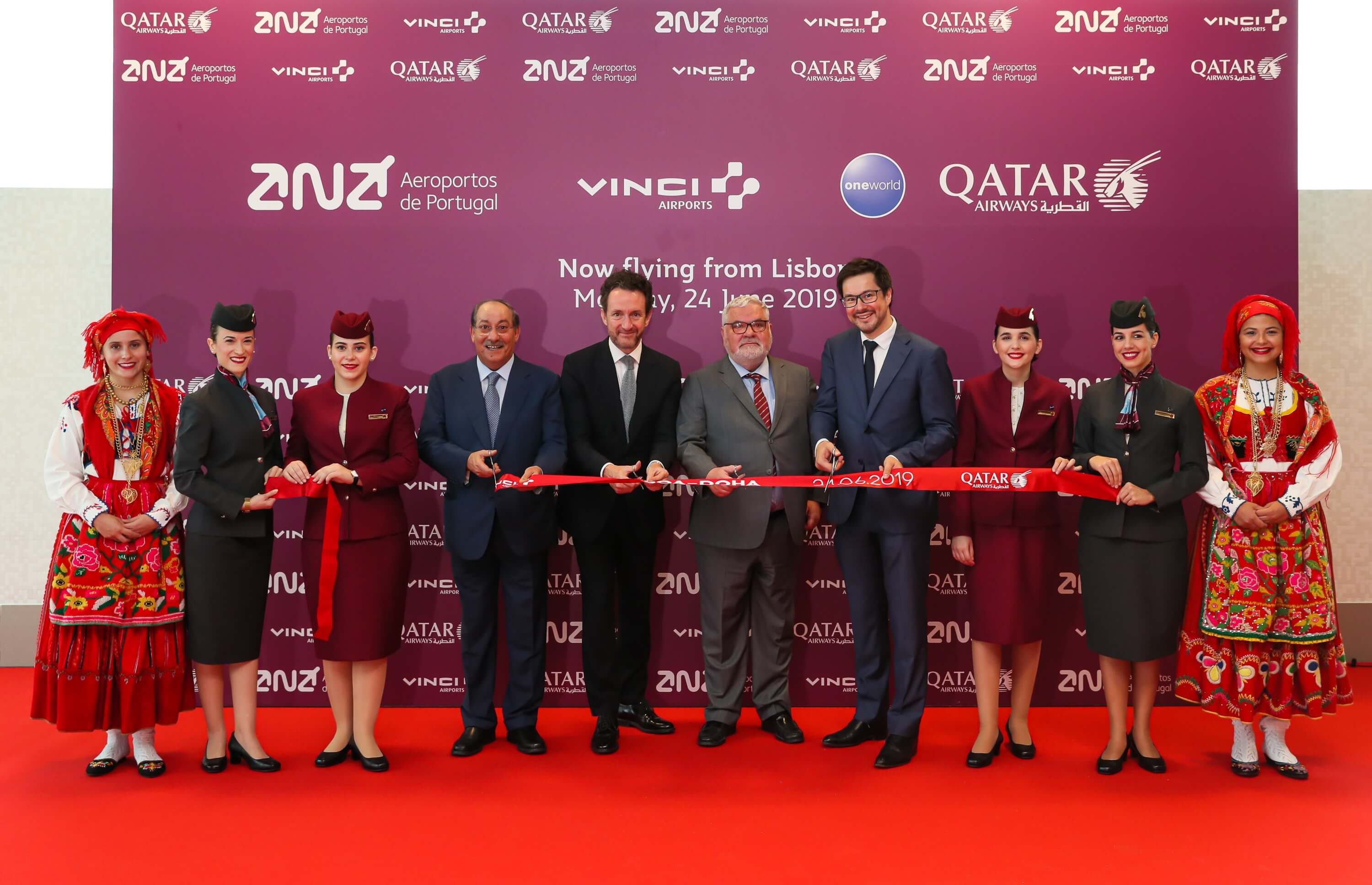 Qatar Airways touches down in Lisbon for the first time