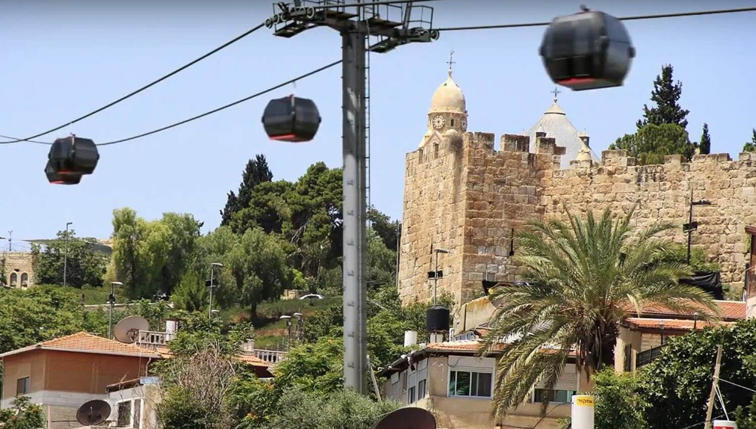 Old City of Jerusalem tourist cable car project approved