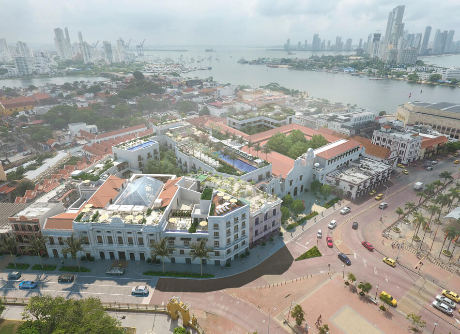 Four Seasons Hotels and Resorts to restore Cartagena's architectural gems