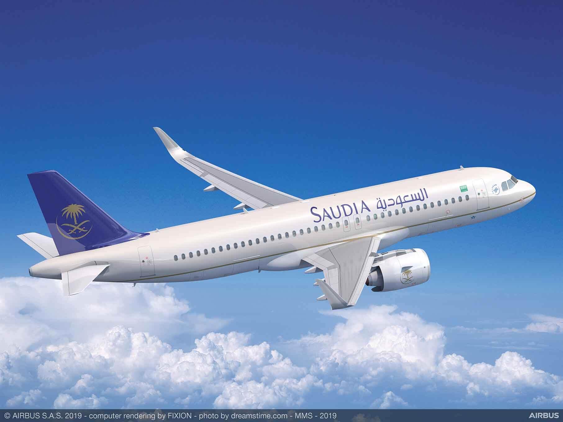 A320neo-サウジ-アラビア-航空-