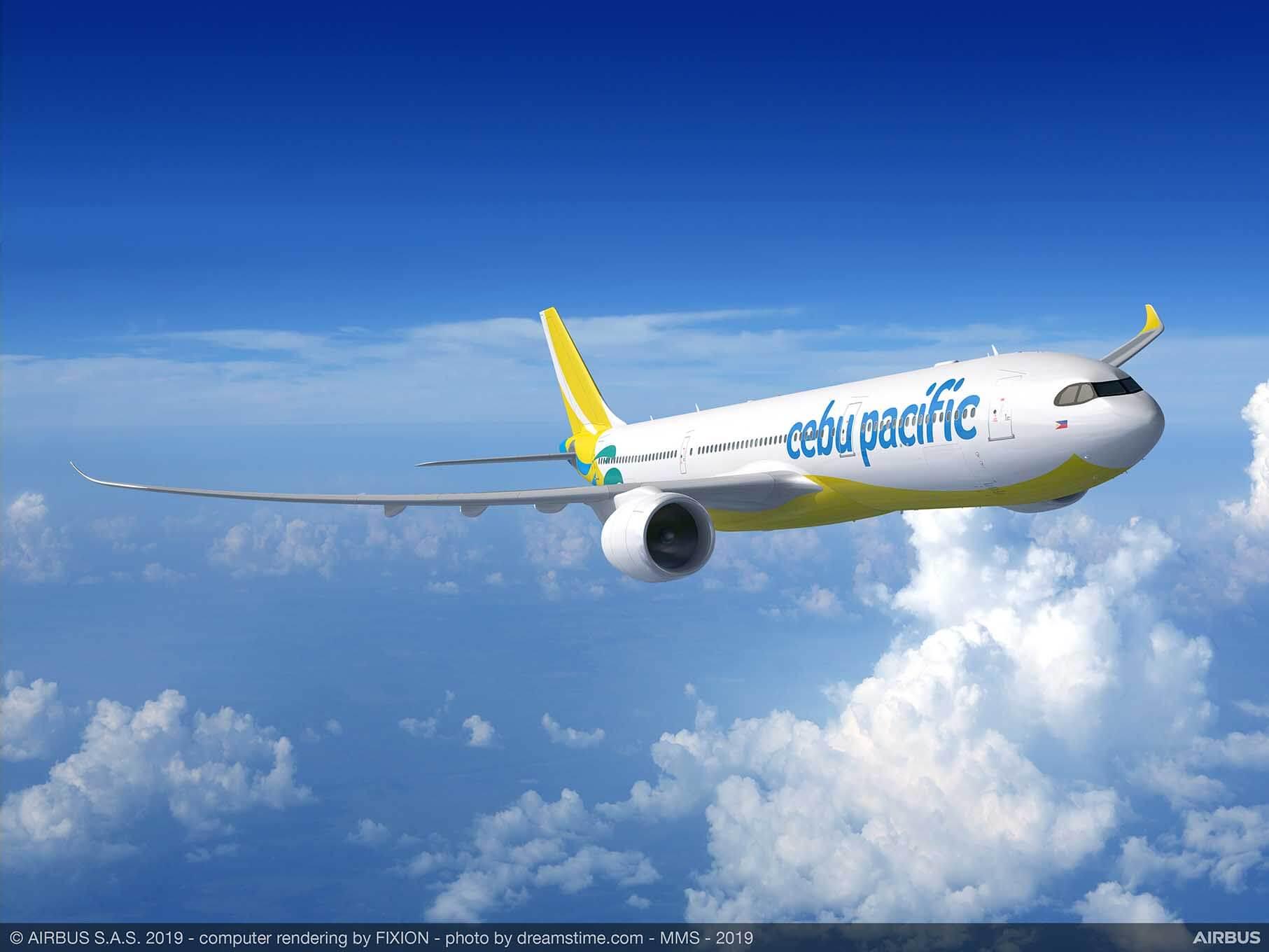 A330-900-Cebu-Stillehavet-