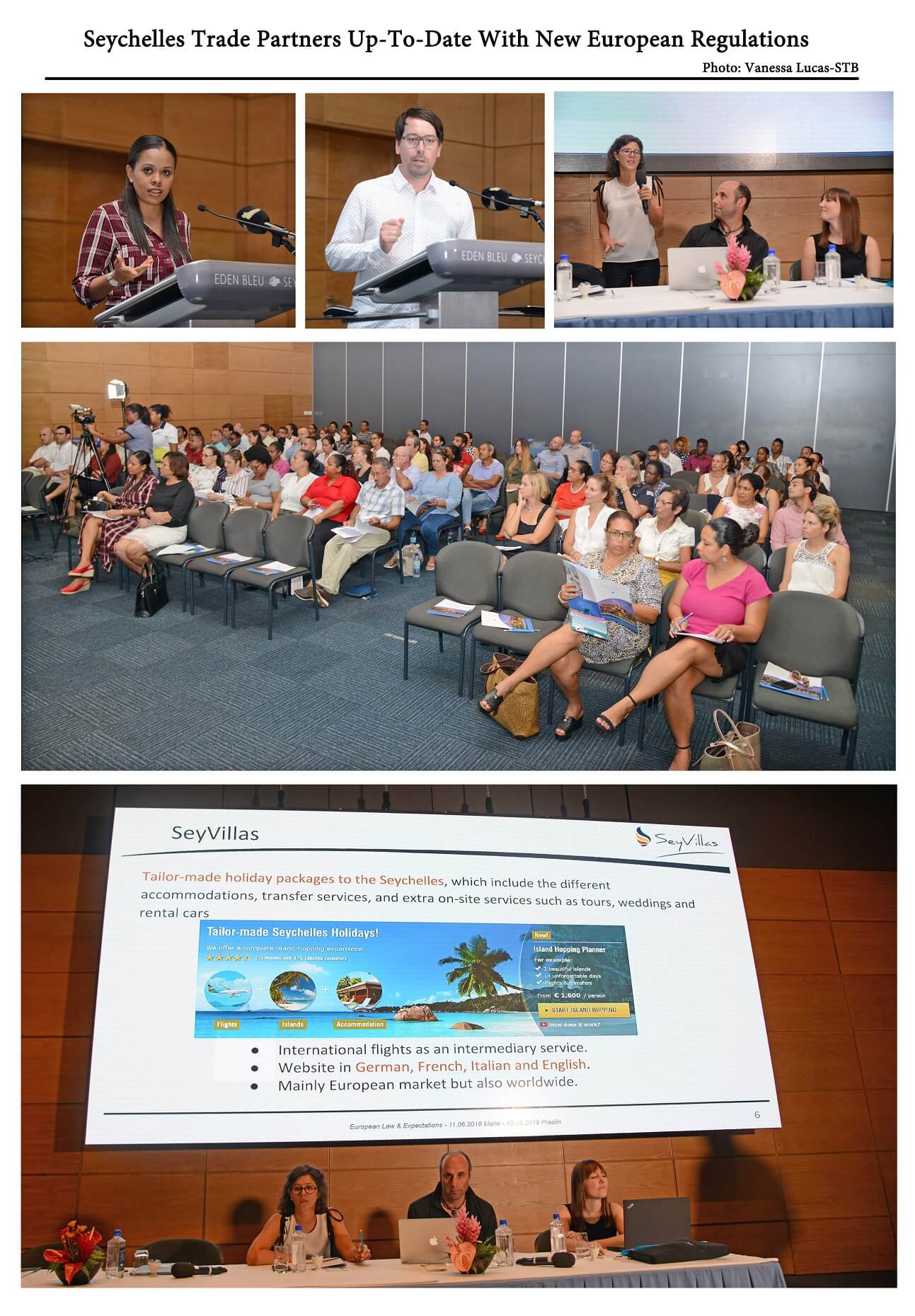 Seychelles trade partners up-to-date with new European regulations