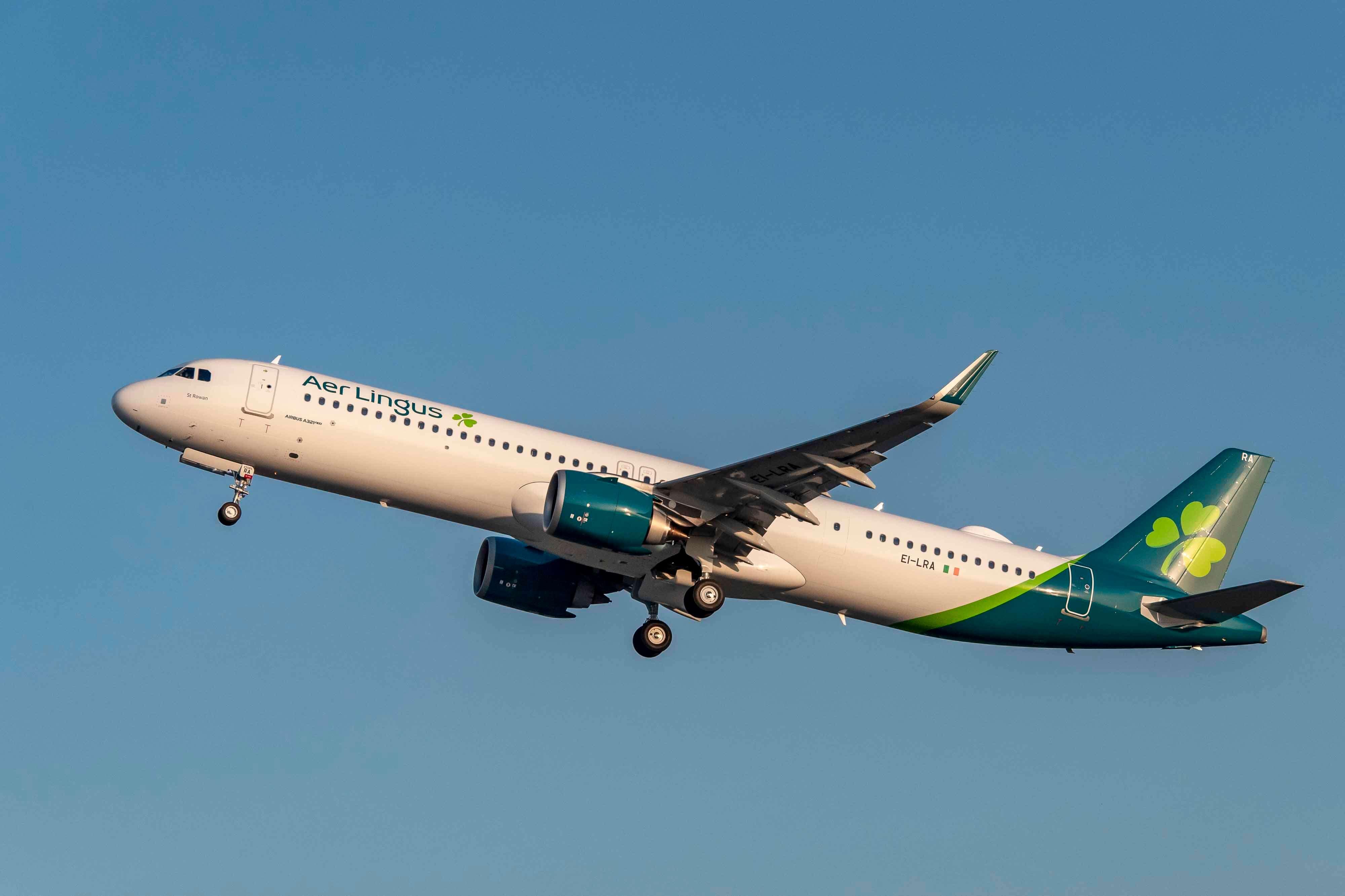 Aer Lingus toimittaa ensimmäisen Airbus A321LR -autonsa