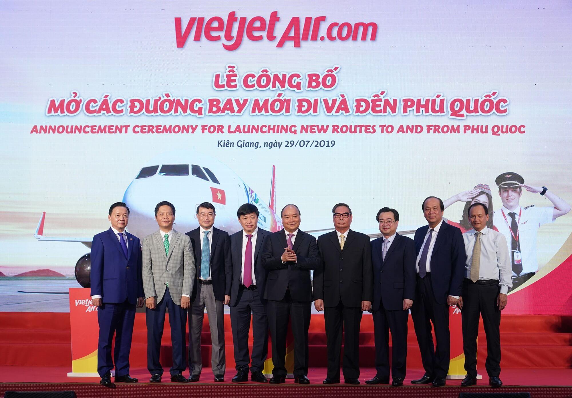 Vietjet rrit frekuencat e fluturimit në ishullin Phu Quoc