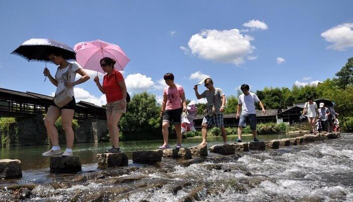 Ο αγροτικός τουρισμός της Κίνας ακμάζει με 1.51 δισεκατομμύρια ταξίδια το πρώτο εξάμηνο του 2019