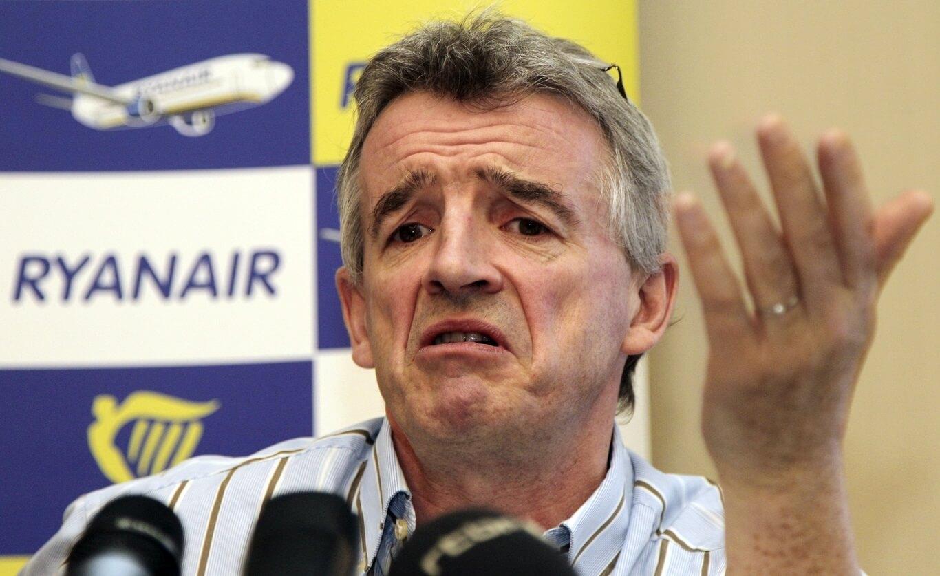 Ryanair's O'Leary zu Boeing: Kritt Är s ** t zesummen!