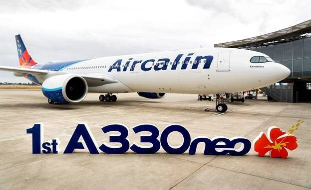 Aircalin overtager sit første Airbus A330neo-fly