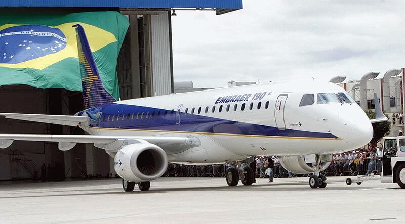 Embraer: 51 جت تحویل داده شده در 2Q19