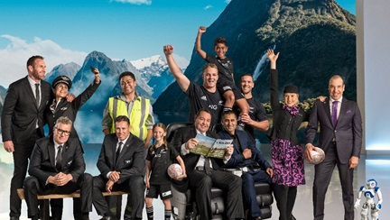 "Air New Zealand palaiž jaunu drošības video ""Air All Blacks"""