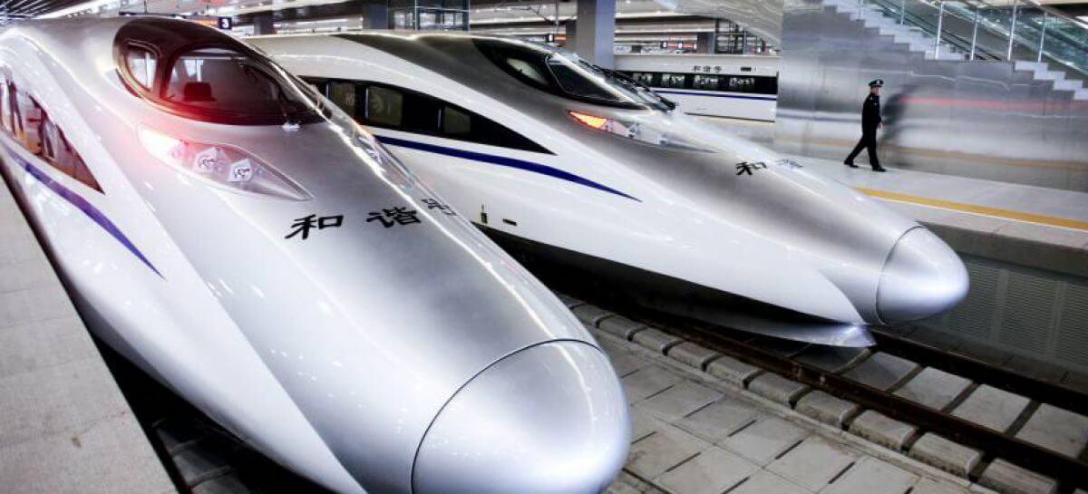 trens chineses