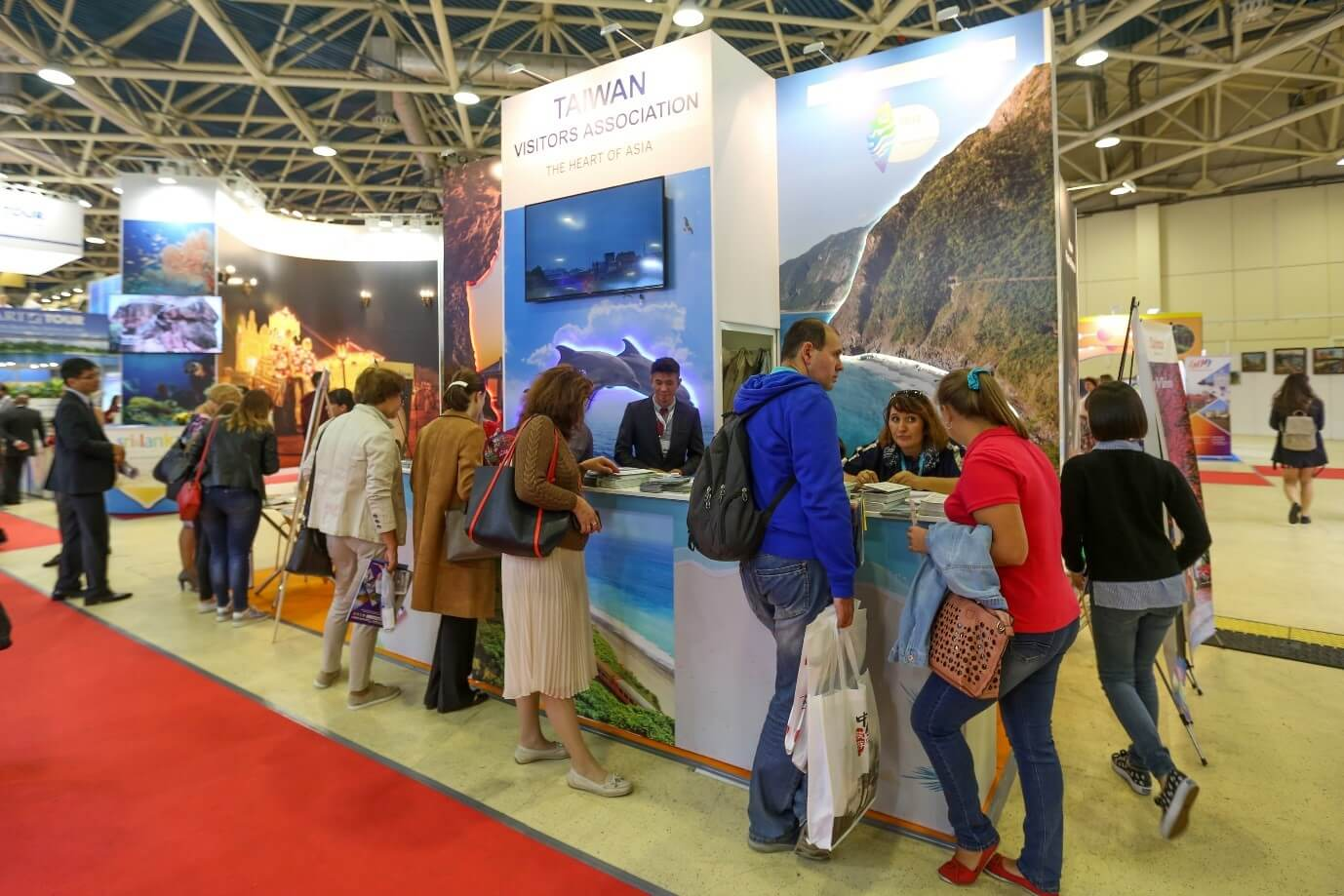 Taiwan extends visa-waiver for Russians and increases stand at OTDYKH Leisure 2019