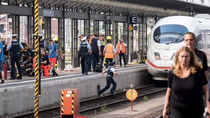 Frankfurt sentralstasjon: Barn drept en ICE kan være