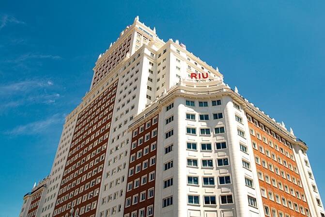 RIU Hotels & Resorts toca o céu em Madrid