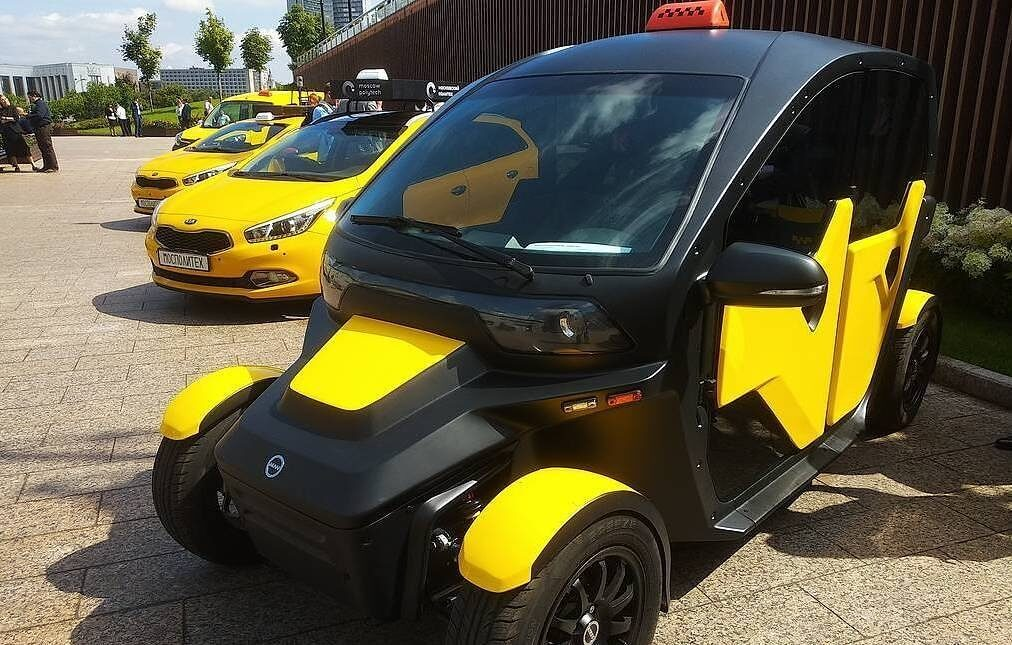 Kalashnikov cab? Russian assault rifle maker goes into electric taxi business