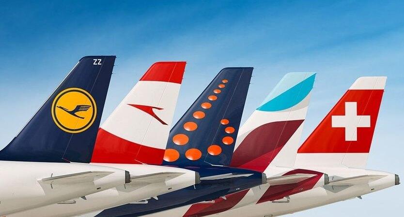 Авіякампаніі Lufthansa Group прынялі 14.6 мільёна пасажыраў у ліпені 2019 года