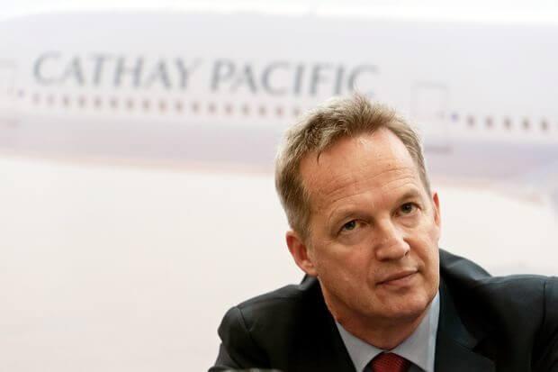 Beijing tvinger Cathay Pacific Airways 'sjef til å trekke seg på grunn av protester fra Hong Kong