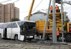 29 Chinese tourists injured in Moscow tour bus crash
