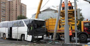 मॉस्को दौरे पर गए 29 चीनी पर्यटक बस दुर्घटना में घायल