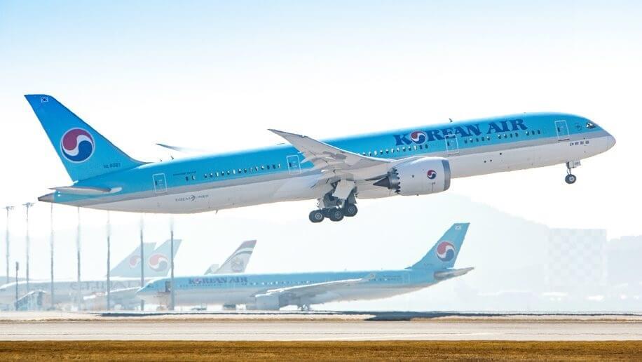 A Korean Air corta as rotas do Japão e em meio a tensões crescentes