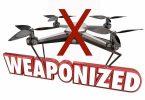 FAA: Drones e armas não se misturam!