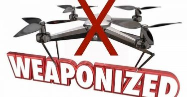 FAA: الطائرات بدون طيار والأسلحة لا تختلط!