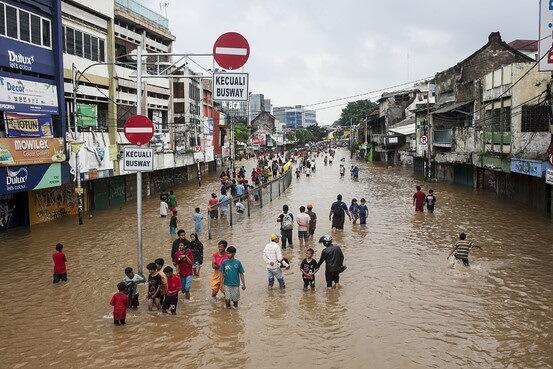 Indonésie opustit potopení Jakarty, vybudovat nový kapitál na Borneu