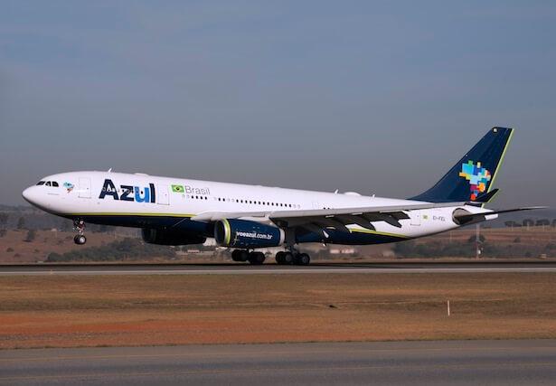 Azul ngluncurake pesawat nonstop anyar saka Fort Lauderdale menyang Belo Horizonte, Brasil