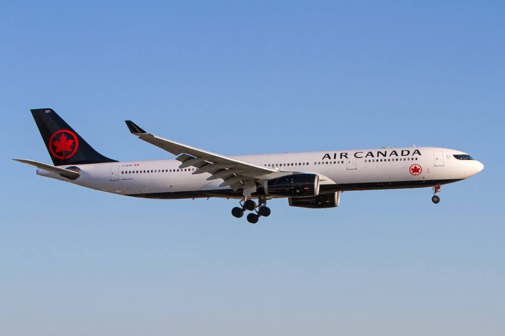 Air Canada anuncia novo serviço sem escalas entre Montreal e Toulouse, França