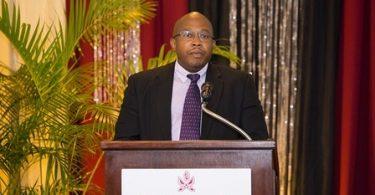 El secretario general interino de la CTO, Neil Walters, se dirige al STC2019