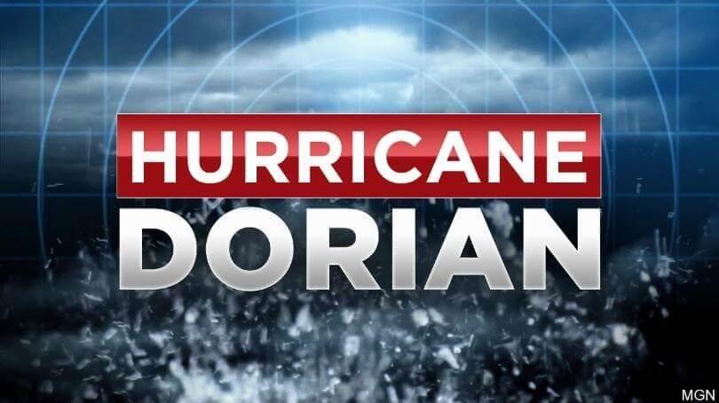 بسیار خطرناک: وزارت گردشگری و هواپیمایی باهاما طوفان دوریان را به روز کرد