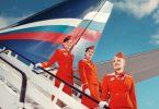 Grupo Aeroflot: Ĉiuj internaciaj permesiloj estas etenditaj, krom flugo Moskvo-Parizo