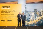 Kemitraan franchisee baru Hertz Asia di Vietnam