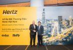 Новае партнёрства франчайзі Hertz Asia у В'етнаме