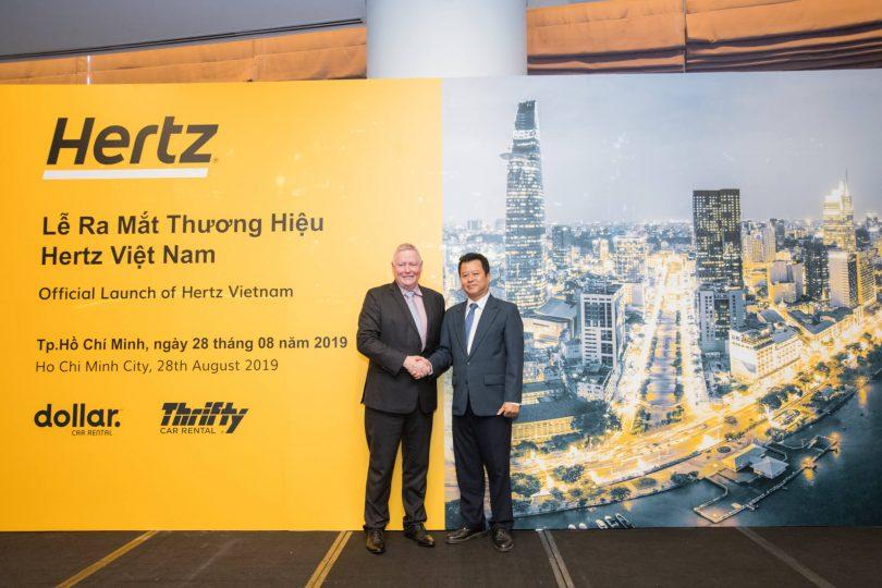 Nova asociación franquiciada de Hertz Asia en Vietnam