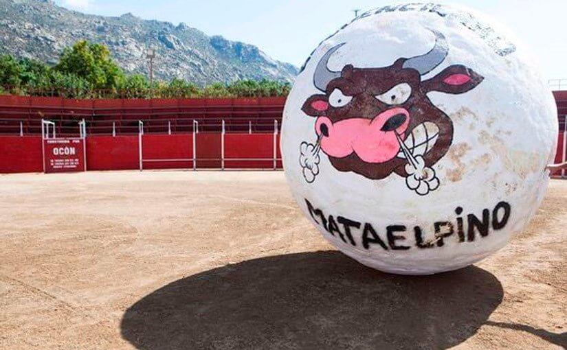 A corrida das bolas: E isso não é touro
