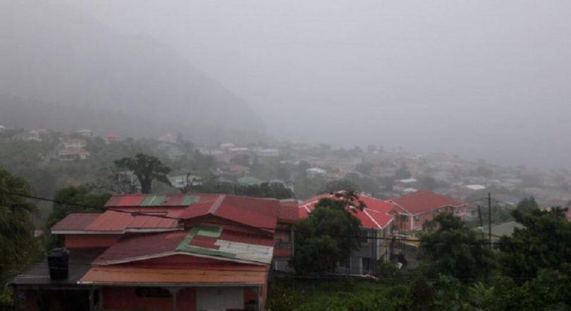 Atualização de Dominica após tempestade tropical Dorian