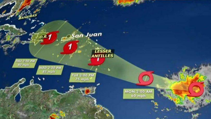 Caribbean Airlines dia manafoana ny sidina noho ny tafiotra tropikaly Dorian