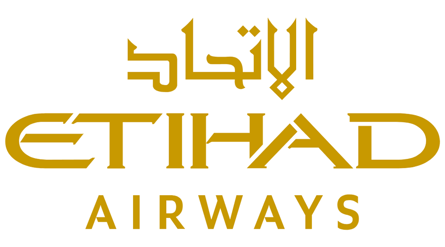 etihad airways vector logo