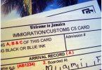 Imigracija na Jamajku: internetska imigracija i carinska deklaracija