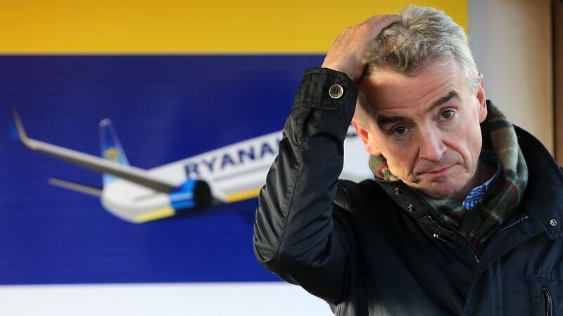 Пасажыры авіякампаніі выйгралі знакавы пазоў супраць Ryanair