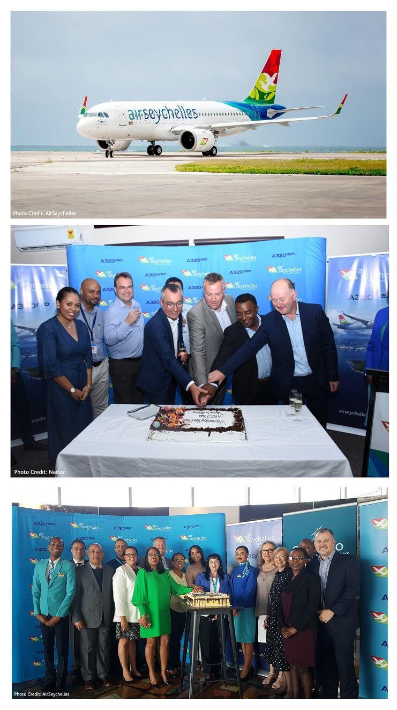 Сейшэльскія райскія мухалёты паляцяць вышэй з новым Airbus A320neo