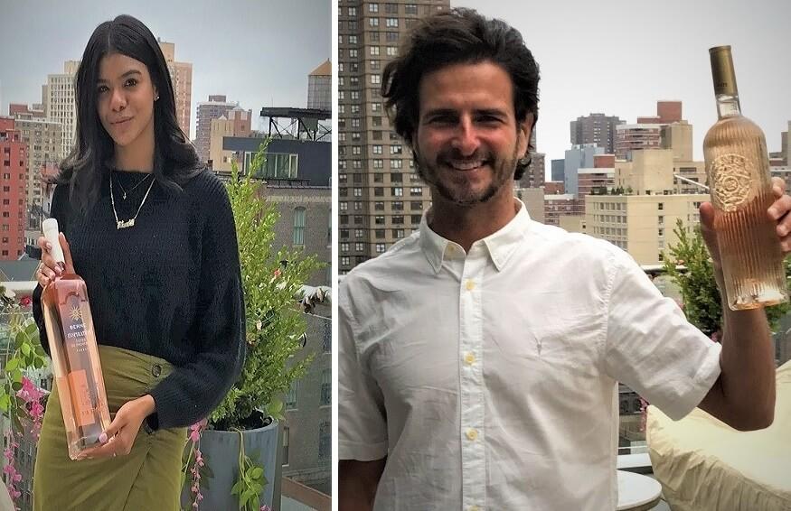New Yorkers ûntdekke Frânske roazen