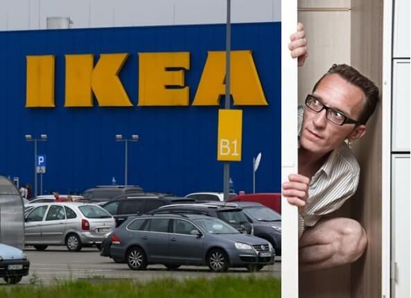 """پلیس اسکاتلند """"بازی پنهانکاری"""" 3,000 نفر را در فروشگاه IKEA گلاسکو خنثی کرد"""