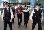 """تروریست های بومی در فرودگاه هیترو پس از ناکامی """"اعتراض هواپیمای بدون سرنشین"""" دستگیر شدند"""