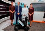 Etihad Airways launched trial of autonomous wheelchairs