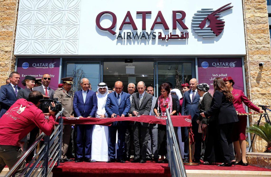 Qatar Airways mbukak kantor anyar ing Amman, Yordania