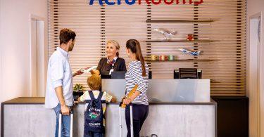 يفتح مطار براغ فندق AeroRooms خلف مراقبة الجوازات