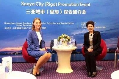 Čínská Sanya se prosazuje jako bezvízový turistický cíl v Lotyšsku, Chorvatsku a Maďarsku