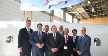 Mitsubishi Aircraft Corporation për të hapur SpaceJet Montreal Center