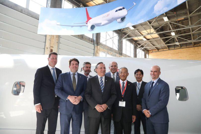 三菱航空機株式会社がSpaceJetモントリオールセンターを開設